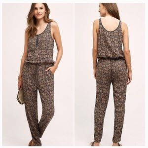Anthropologie Tiny Chione jumpsuit size Medium